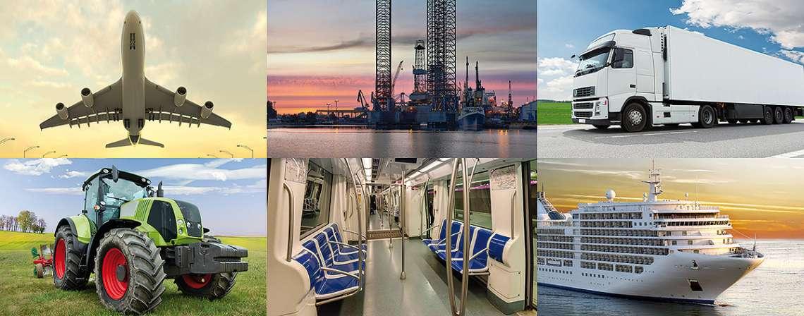 Industrien, für die wir tätig sind