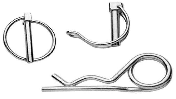 Linch Pins, Hose Clips, R-Clips